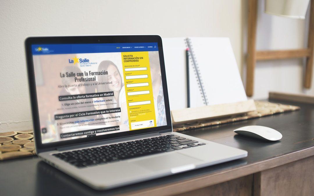 Web Formación Profesional La Salle