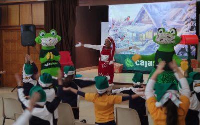 Visita al colegio del Belén Cajasiete