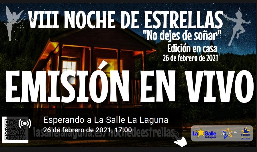 VIII NOCHE DE ESTRELLAS EDICIÓN EN CASA