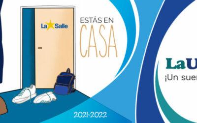 """""""Estás en casa"""", lema con el que La Salle da la bienvenida al curso 2021-2022"""